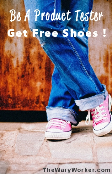 Be a Product Tester, Get New Shoes