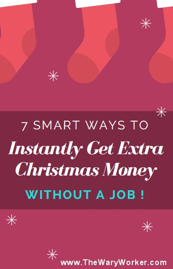 How to get extra Christmas money without having a job