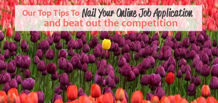 How to Nail Your Online Job Application and Beat Out The Competition