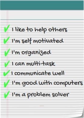 Customer service skills checklist