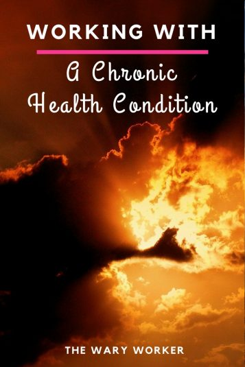 Working with a chronic health condition