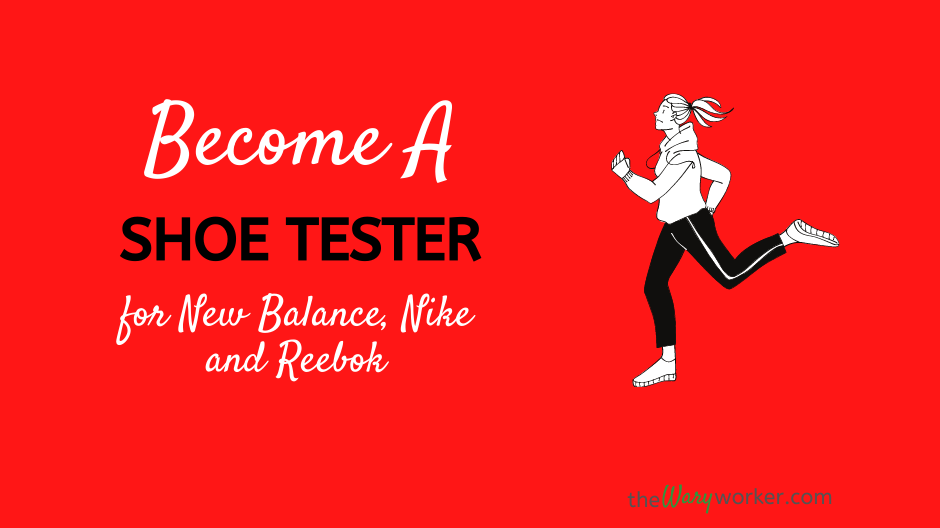 Become A Shoe Tester