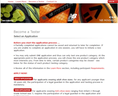 alivio Mejor Pólvora  Want Free Shoes? Become a Product Tester for New Balance, Nike and Reebok -  The Wary Worker