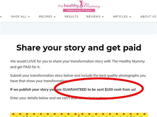 The Healthy Mommy Pays You To Write