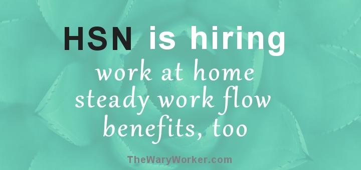 HSN hiring now: work at home customer service job