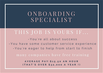 remote onboarding specialist