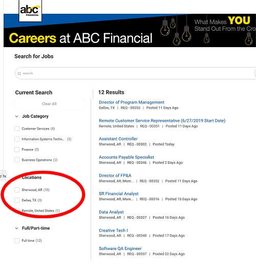 ABC Financial remote jobs