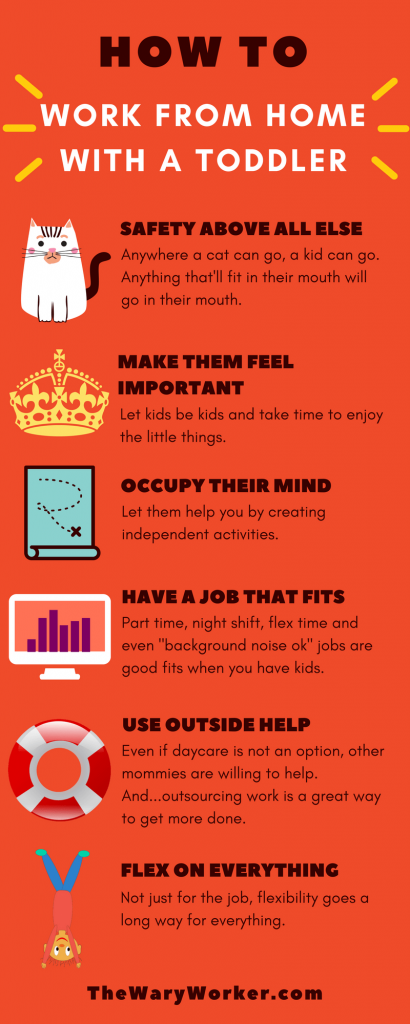Working from home with a toddler: here's how to do it.