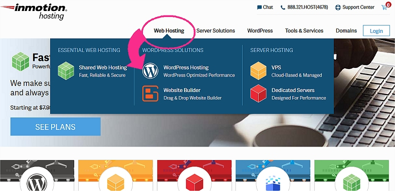 How To Start A Mom Blog Using InMotion hosting