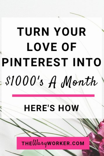 Make Money With Pinterest Side Hustle