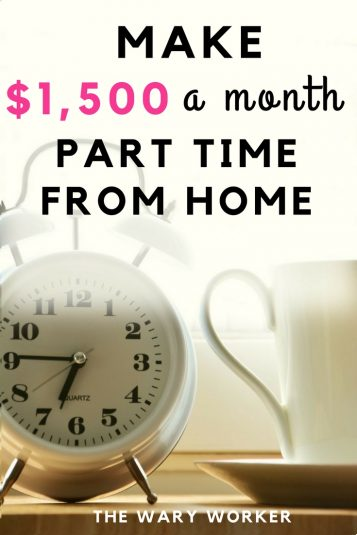 Make $1500 Working Part Time From Home