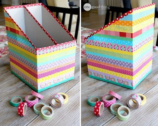Cereal box storage idea