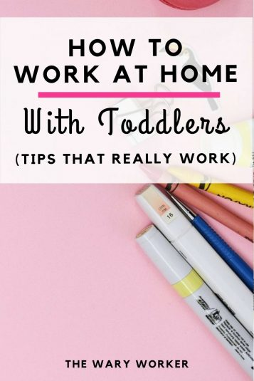 How to work at home with children