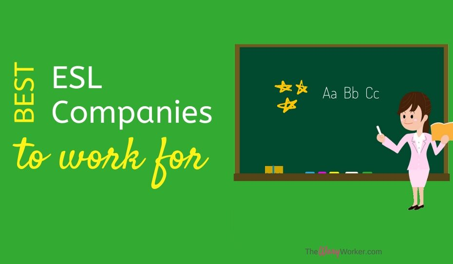 Best ESL Company To Work For