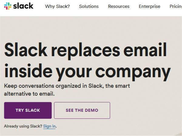 To help pass your online video interview, let them know you know how to use collaboration tools like Slack.Slack collaboration tool