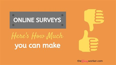 How Much Can You Make Doing Online Surveys?