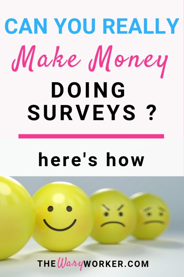 Can You Make Money Doing Surveys ?