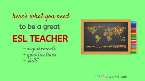Qualifications You need To Be An ESL Teacher