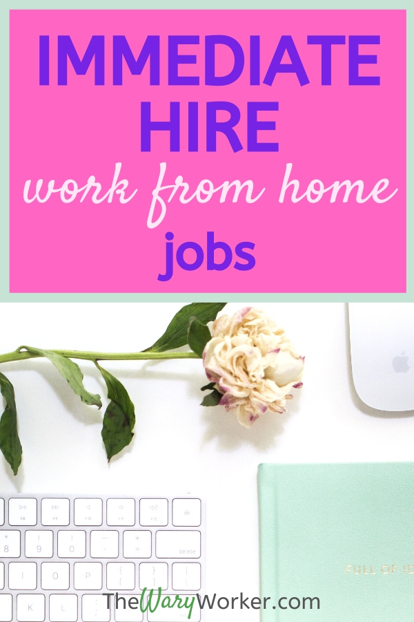 Work From Home Jobs You Can Start Now