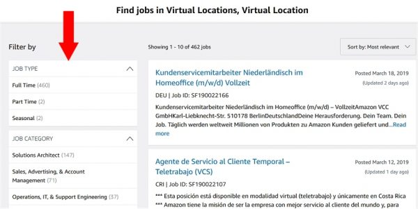 Online Jobs With Amazon