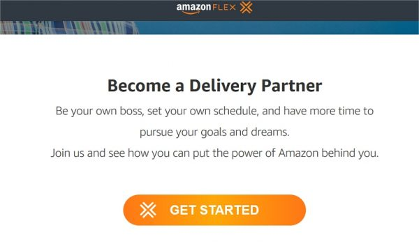 Deliver Job With Amazon Flex