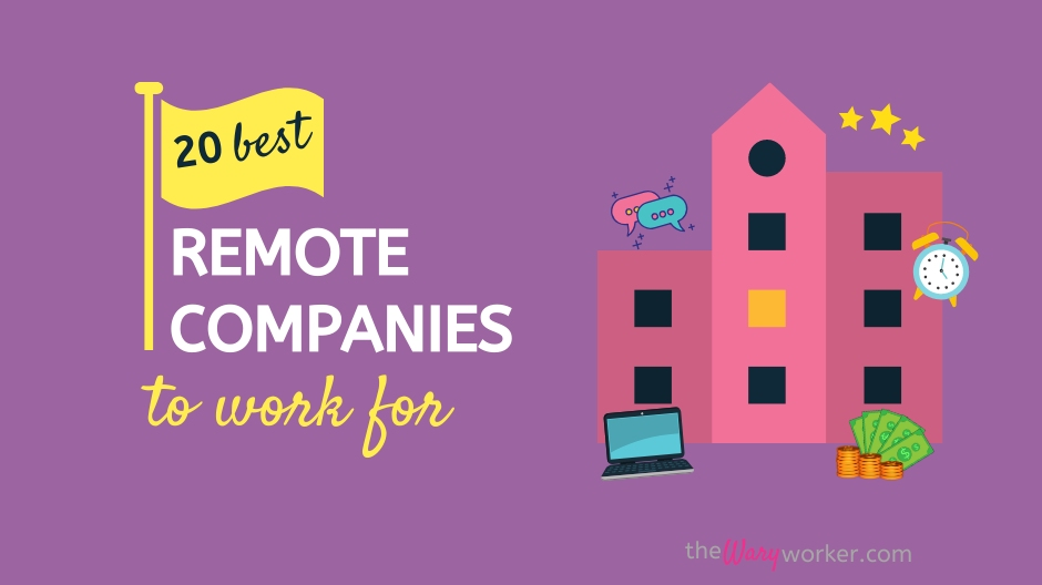 Best Remote Companies To Work For