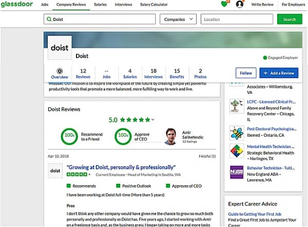 Best Remote Companies To Work For: Doist