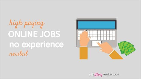 High Paying Online Jobs No Experience Needed