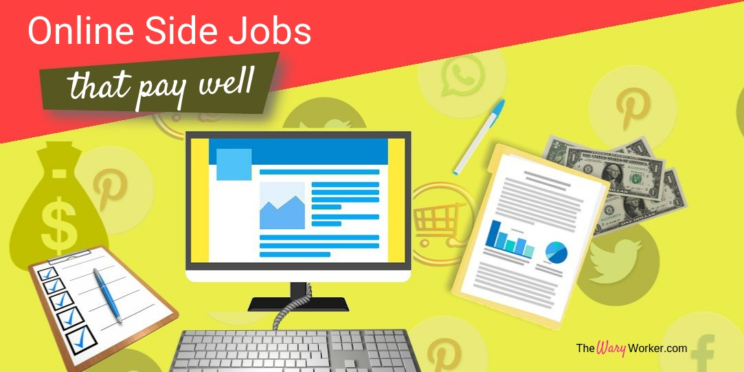 Online Side Jobs That Pay Well