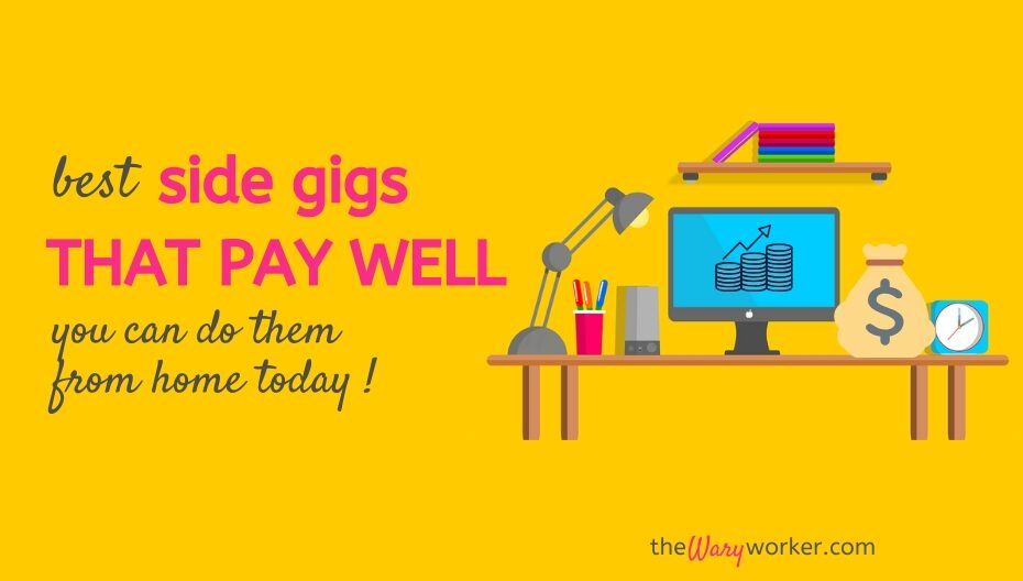 Best Side Gigs That Pay Well