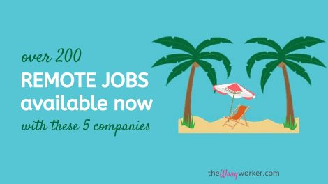 Remote Jobs Available Noe