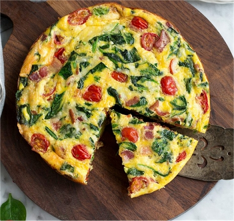 Quick And Easy Dinner #2: Easy Baked Frittata