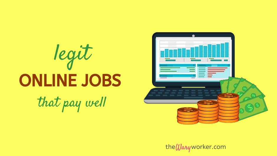 Legit Online Jobs That Pay Well