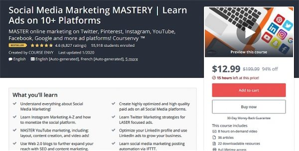 Social Media Marketing Mastery