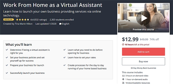Learn Virtual Assistant Skills From Home