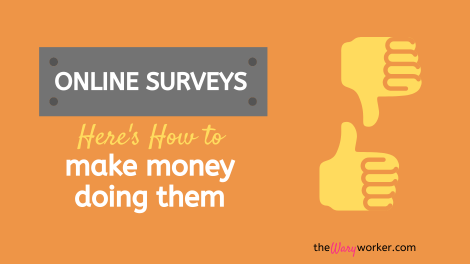 Make Money For Online Surveys