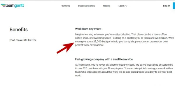 Team Gantt: A Work From Home Company That Provides Equipment