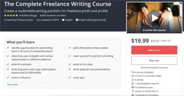 Complete Freelance Writing Course