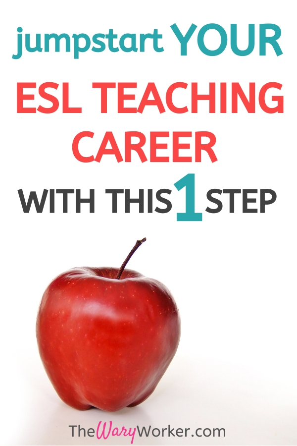 First Step To Become An ESL Teacher