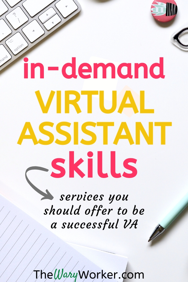 In-Demand Virtual Assistant Skills