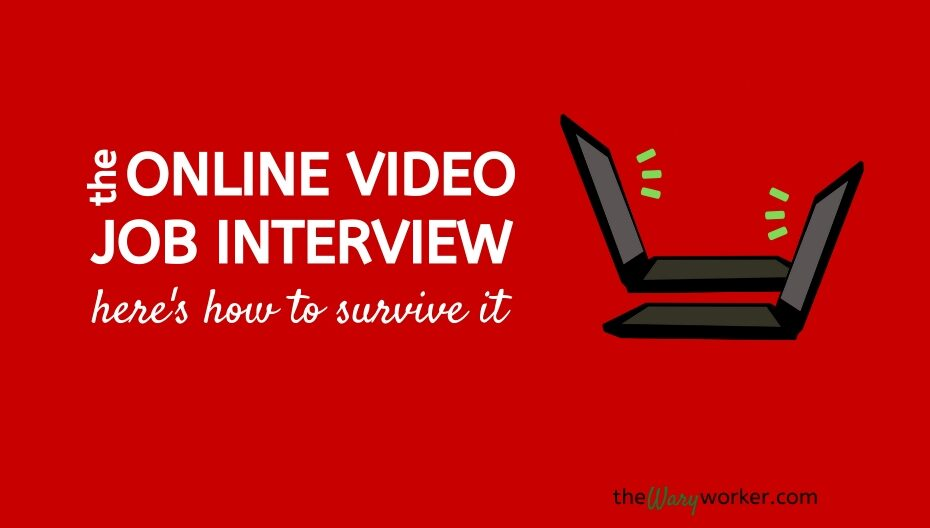 Online video job interview: Here are some tips to help you get a remote job.