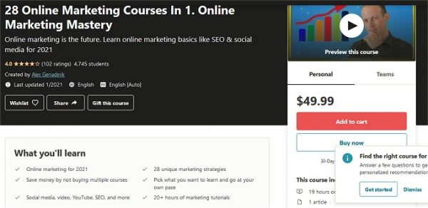 Learn how to do online marketing
