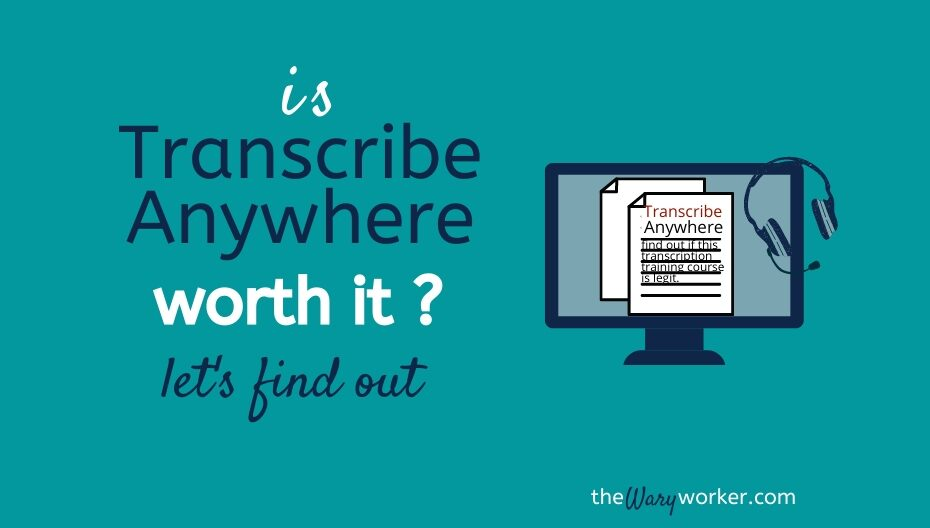 Is Transcribe Anywhere Worth It ? Find Out Here
