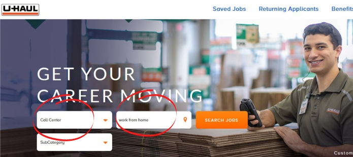 Remote Customer Service Jobs For Beginners with UHaul