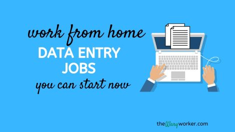 Legit work from home data entry jbos