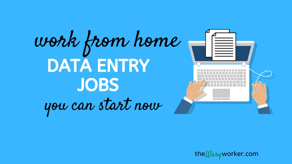 Legit work from home data entry jobs
