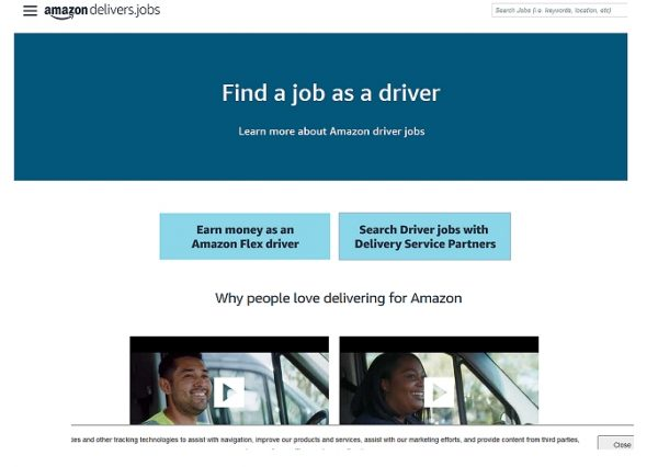 Amazon Delivery / Driving Jobs