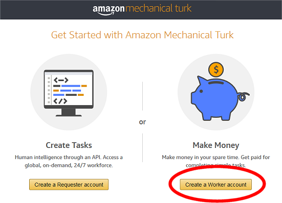 Amazon MTurk: Here's how to get started