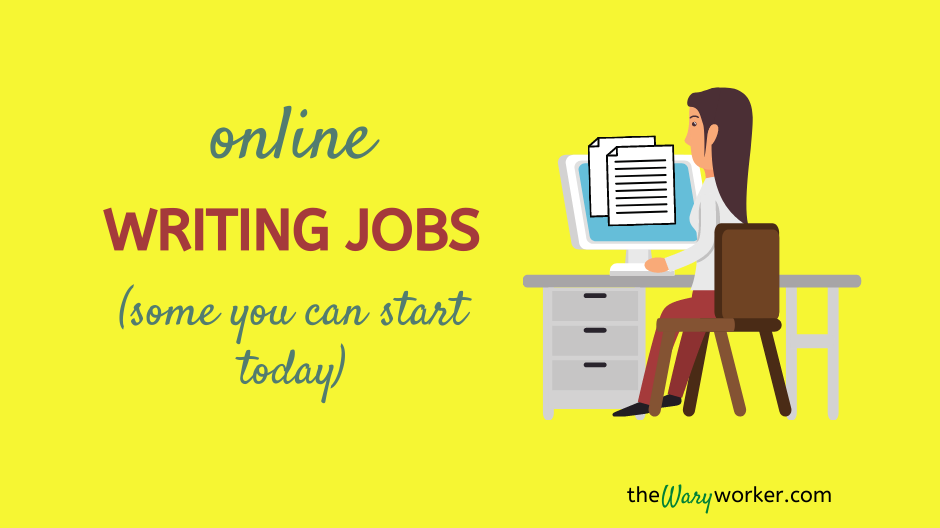 Onlien Writing jobs Start Today